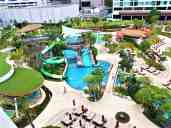 VIew of water park.