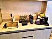 Suite 3605 kitchenette.