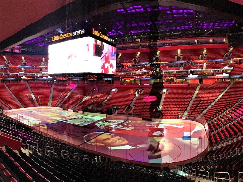 little-caesars-arena-interior