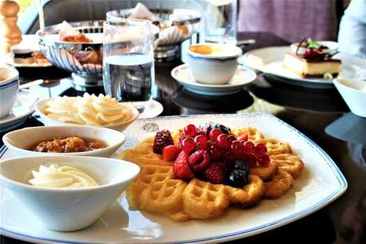 swedish-waffles-topped-with-berries