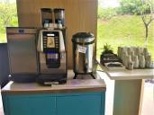 Coffee and tea making equipment. Photo Credit: Accidental Travel Writer.