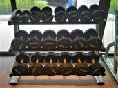 Free weights. Photo Credit: Accidental Travel Writer.