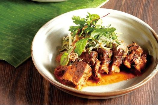 thai-Red Curry with Slow-cooked-Beef-Short-Ribs