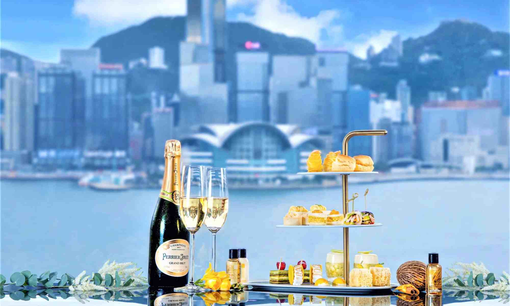 afternoont-tea-with-champagne-at-sheraton-hotel-in-hong-kong