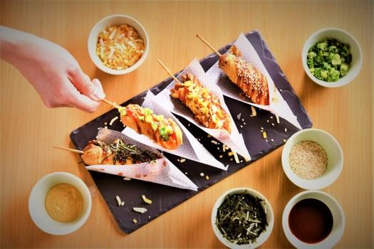 kowloon-restaurant-servess-tea-buffet-with-Korean-Cheese-corn- dogs
