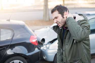 common injuries caused by rear end car wrecks