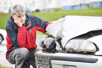 driving your car after a car accident