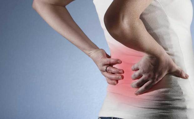 Lower back soft tissue injury