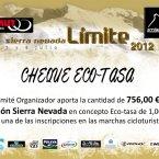 756 euros donados por Mamut Sierra Nevada de la Sierra Nevada Límite y la Subida Ciclorutista al Veleta
