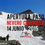 Apertura del Nevero de la Carihuela el 14 de junio