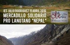"""I.E.S. """"Julio Rodríguez"""" (Motril): mercadillo solidario pro Langtang"""