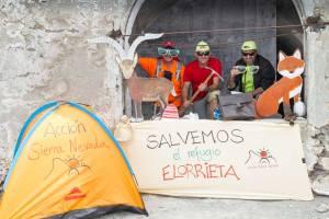 Photocall II Cadena Humana al Refugio Elorrieta