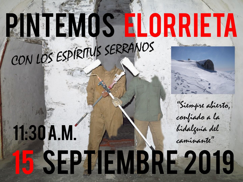 Pintemos Elorrieta con los Espíritus Serranos el 15 de septiembre - Acción Sierra Nevada