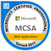 MCSA: Web Applications - Certified 2017