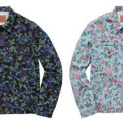 9baeb9a47c74 Supreme Gets Floral With Levi's Ss16 Collab Acclaim Magazine