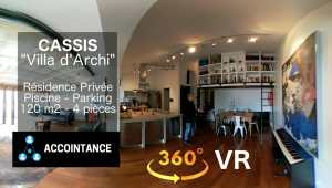Visite Immo VR sur Youtube