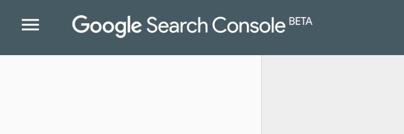 Search Console beta