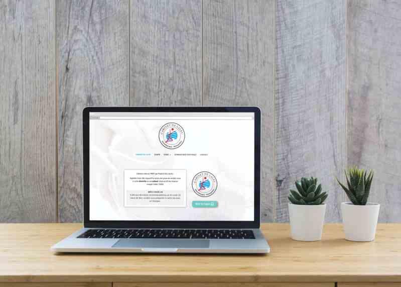 Site web pour kinésithérapeute