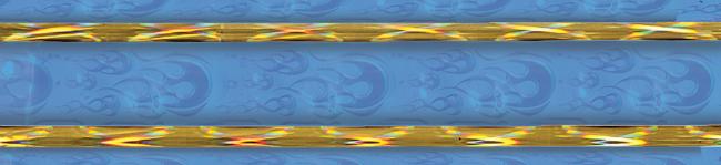 Blue/Gold Blaze