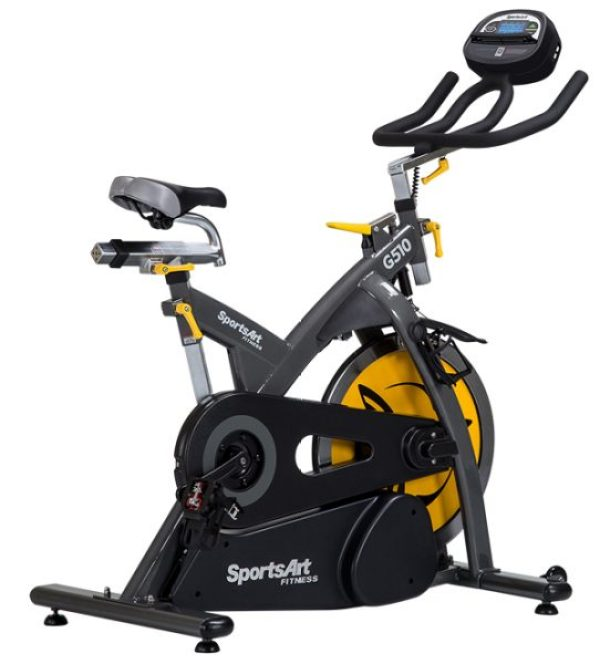 Bicicleta Spinning G510 Sports Art Fitness Ecopowr Accolombia ima8