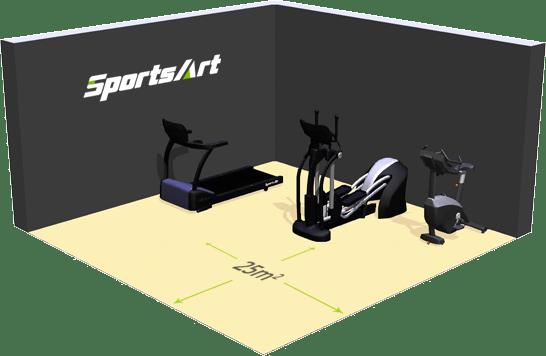 ECO-POWR ™ hotel SportsArt Fitness accolombia img1