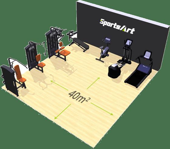 ECO-POWR ™ hotel SportsArt Fitness accolombia img2
