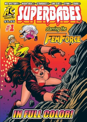 AC COMICS MAY 2019 PREVIEWS FOR JULY 2019 SHIP–Superbabes #1 | AC Comics