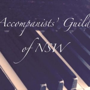 Accompanist Guild of NSW logo