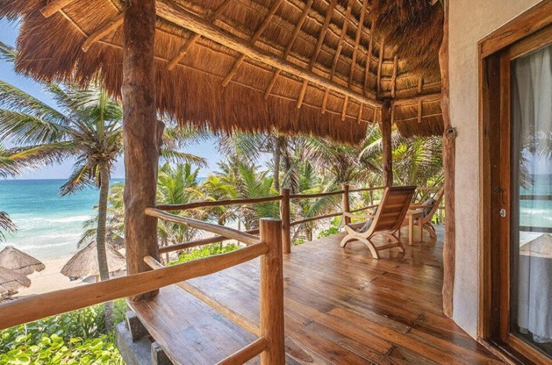 Staying in A Tulum Beach Hotel