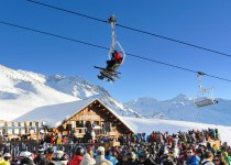 Skiing-in-Chile