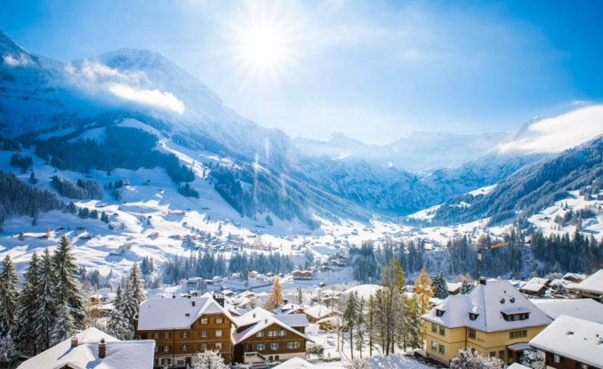 Best Places in Europe To Visit in December in Switzerland