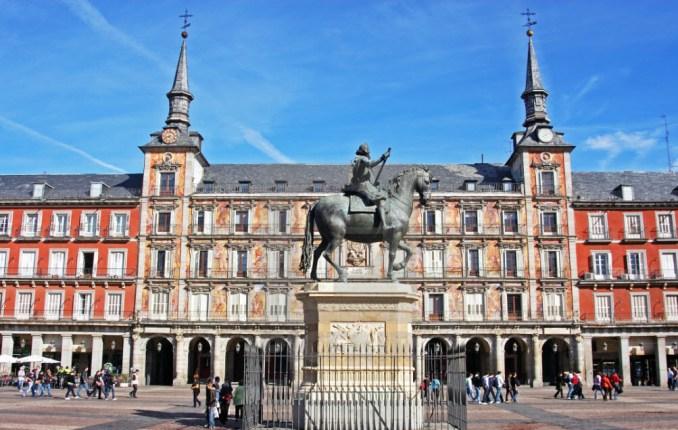 Plaza Mayor Spain tourism