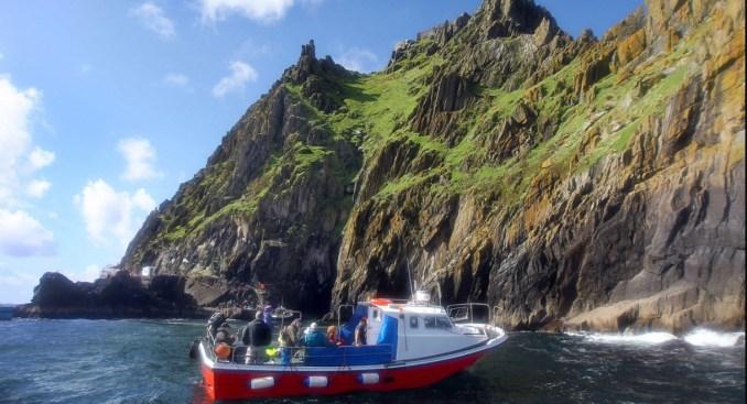 Skellig Michael Islands boat trip