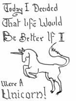 Comic 29 - I'm a unicorn!