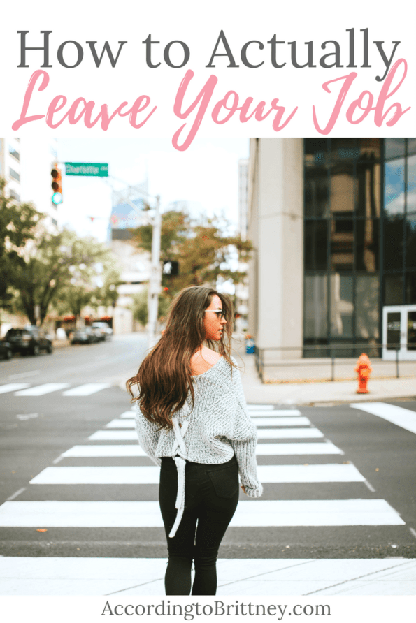 How to Actually Leave Your Job
