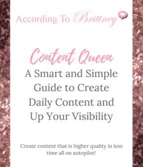 content queen promo store
