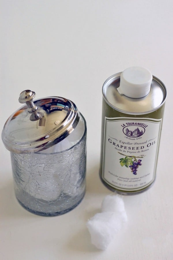 all natural eye makeup remover - According to Elle