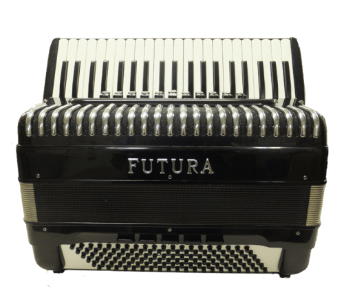 Futura 4/5 Reeds Black 120 Bass Accordion