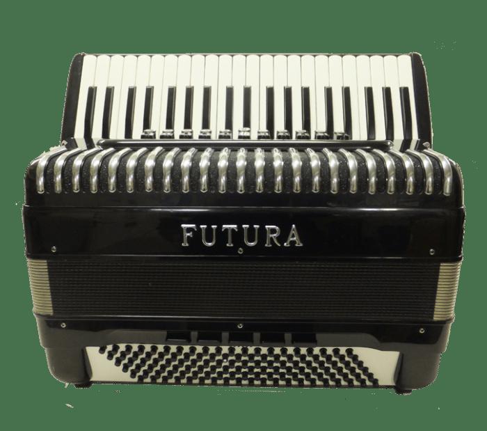 Futura 4/5 Reeds Black 120 Bass Accordion