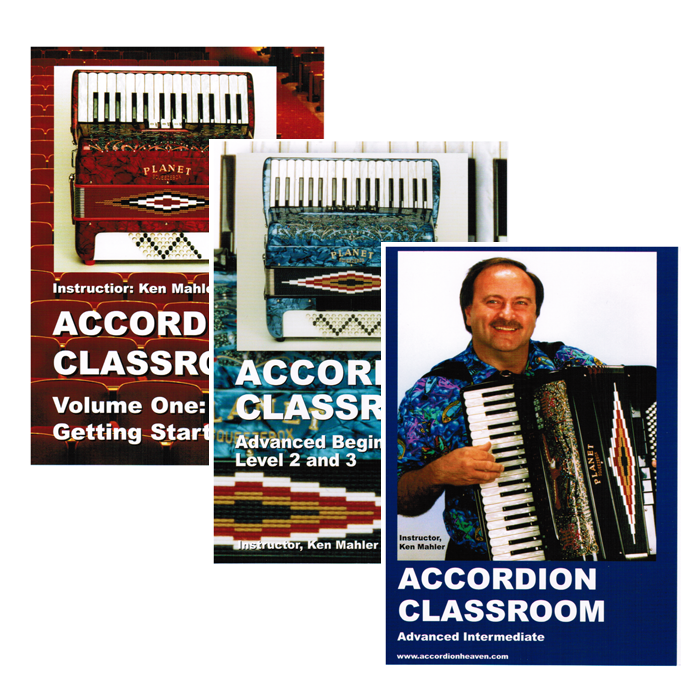 Accordion Classroom DVDs