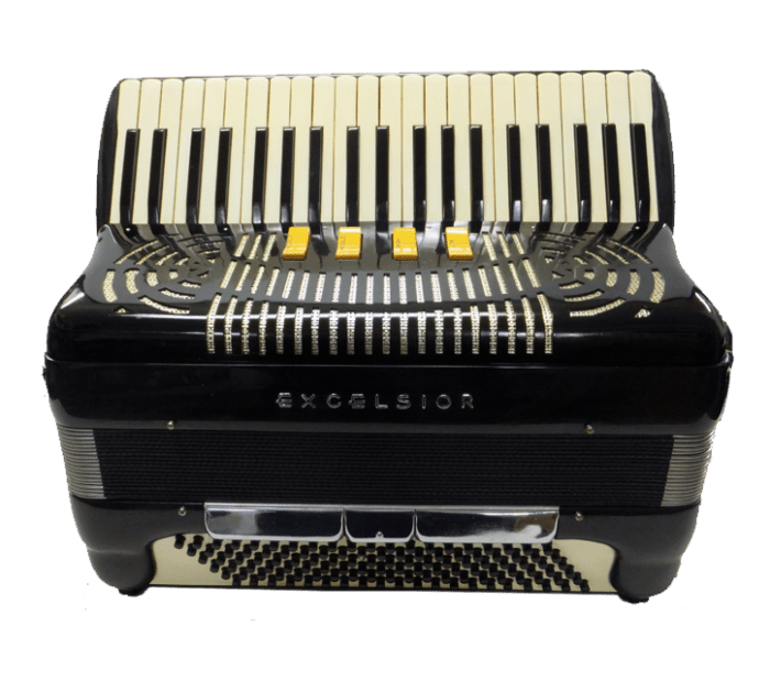Excelsior 120 Bass Accordion I Mahler Music Center