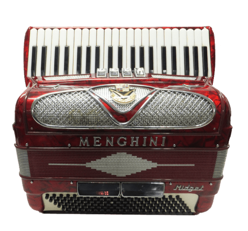 Menghini Midget 120 Bass Accordion