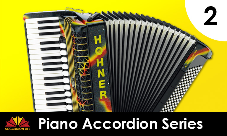 Learn how to play the Piano Accordion: Level 2