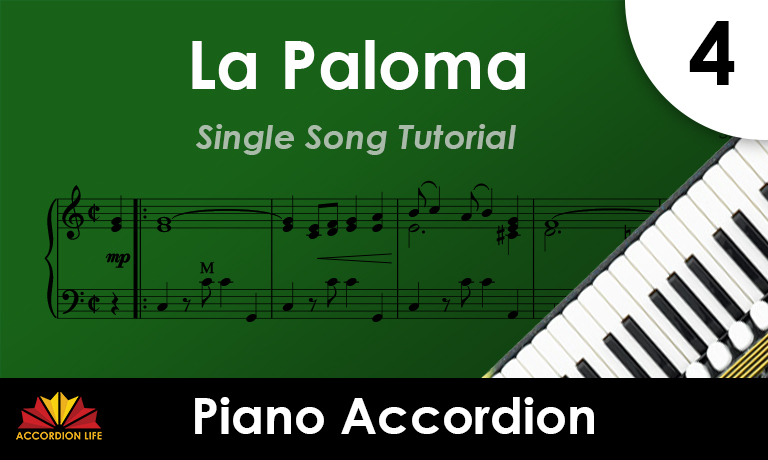 How to Play La Paloma on the Piano Accordion