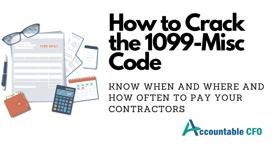 1099 form 600 dollars  How to Crack the 11 Misc Code | Accountable CFO