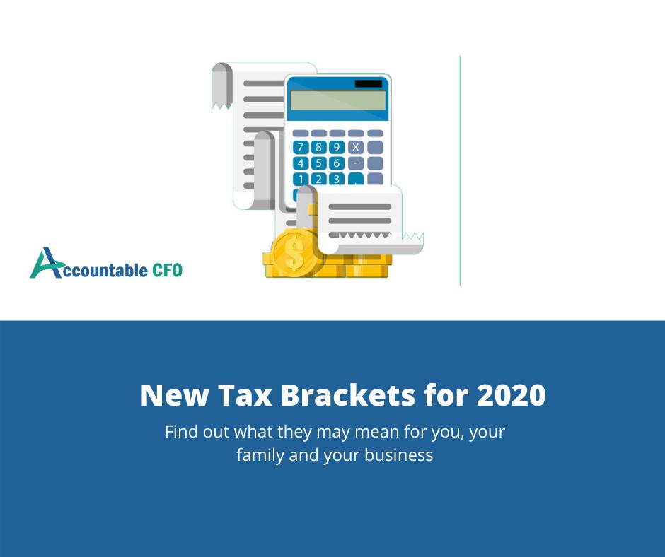 New Tax Brackets 2020.New Tax Brackets For 2020 Accountable Cfo