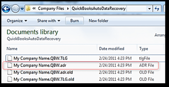 Restore the Backup by using ADR