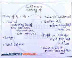 auditing chart by Accounting Seekho