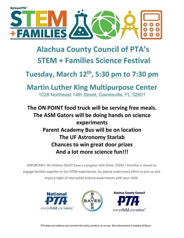 Stem event flier