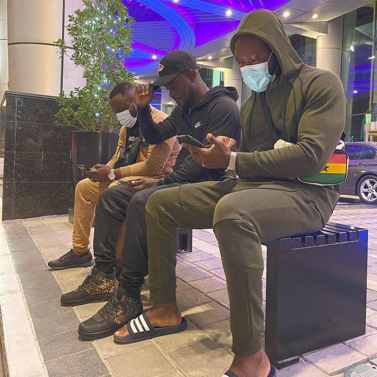 NPP celebrities chilling in Dubai